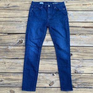 GAP | Dark Wash High Rise Skinny Jeans Size 29R